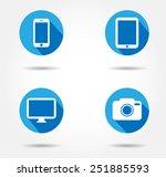 smartphone icon camera tablet...