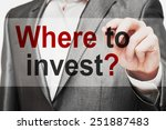 where to invest   | Shutterstock . vector #251887483
