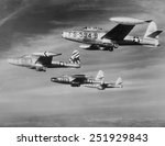 U.s. F 84 Thunderjets On...