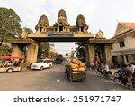 poipet  cambodia february 8 ... | Shutterstock . vector #251971747
