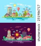 modern flat design conceptual...   Shutterstock . vector #251986717