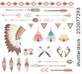 tribal collection | Shutterstock .eps vector #252077293