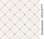 vector seamless pattern. modern ... | Shutterstock .eps vector #252115777