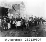 ev1801 gold rush town  dawson... | Shutterstock . vector #252139507
