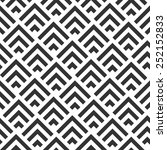 seamless geometric pattern... | Shutterstock .eps vector #252152833