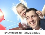 a summer holidays  celebration  ... | Shutterstock . vector #252165037