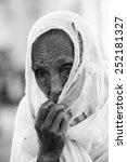 aksum  ethiopia   sep 24  2011  ... | Shutterstock . vector #252181327