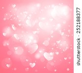 happy valentines day card... | Shutterstock .eps vector #252188377