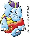 funny elephant | Shutterstock . vector #25222471