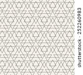 vector modern pattern. black...   Shutterstock .eps vector #252260983