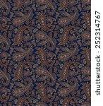 pattern paisley | Shutterstock .eps vector #252314767