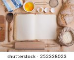 Baking Background With Blank...