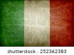 italian flag | Shutterstock . vector #252362383