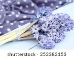 Blue Lilac Hyacinthtied With...
