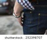 confident man posing in... | Shutterstock . vector #252398707