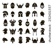 30 vector icons of black...