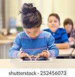 education  elementary school ... | Shutterstock . vector #252456073