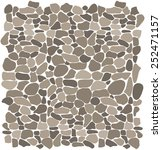 Background Stone Wall  Vector...