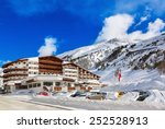 Mountain Ski Resort Obergurgl...