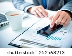 business  technology and... | Shutterstock . vector #252568213