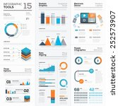 modern infographic business... | Shutterstock .eps vector #252573907