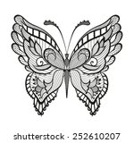 Abstract Decorative Butterfly....