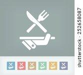 restaurant icon | Shutterstock .eps vector #252658087