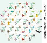 alphabet for kids from a to z.... | Shutterstock .eps vector #252676027