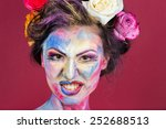 the creative  bright  color... | Shutterstock . vector #252688513