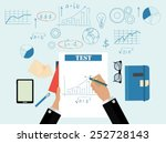 business concept design | Shutterstock .eps vector #252728143