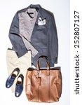 still life of street style man. ...   Shutterstock . vector #252807127