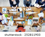 group of business people... | Shutterstock . vector #252811903