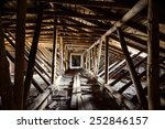 Old Timbered Loft Inside