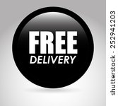 fast delivery design  vector... | Shutterstock .eps vector #252941203