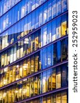 business office building in... | Shutterstock . vector #252959023