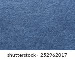 Navy Jeans Fabric Plain Surfac...