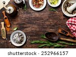 spices for use as cooking... | Shutterstock . vector #252966157