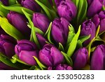Nature Bouquet From Purple...