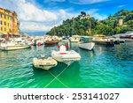typical mediterranean buildings ... | Shutterstock . vector #253141027