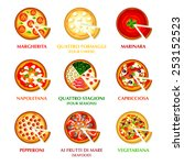 colorful icons for classic... | Shutterstock .eps vector #253152523