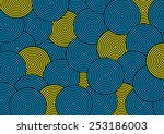 abstract overlap circle pattern....