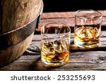 Glass Of Whiskey In The Old...