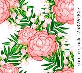 abstract elegance seamless... | Shutterstock .eps vector #253262857