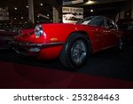 Постер, плакат: Sports car Maserati Mistral