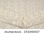 white wool background | Shutterstock . vector #253340437