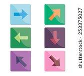 arrows | Shutterstock .eps vector #253375027