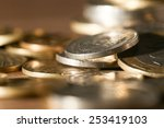 coin. close up | Shutterstock . vector #253419103