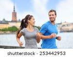 Healthy Runners Running In...