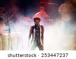 Small photo of BARCELONA - MAY 27: Antibalas (afrobeat band) performance at Heineken Primavera Sound 2014 Festival (PS14) on May 27, 2014 in Barcelona, Spain.