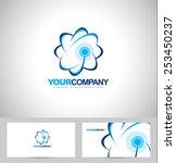 cloud logo concept. creative... | Shutterstock .eps vector #253450237